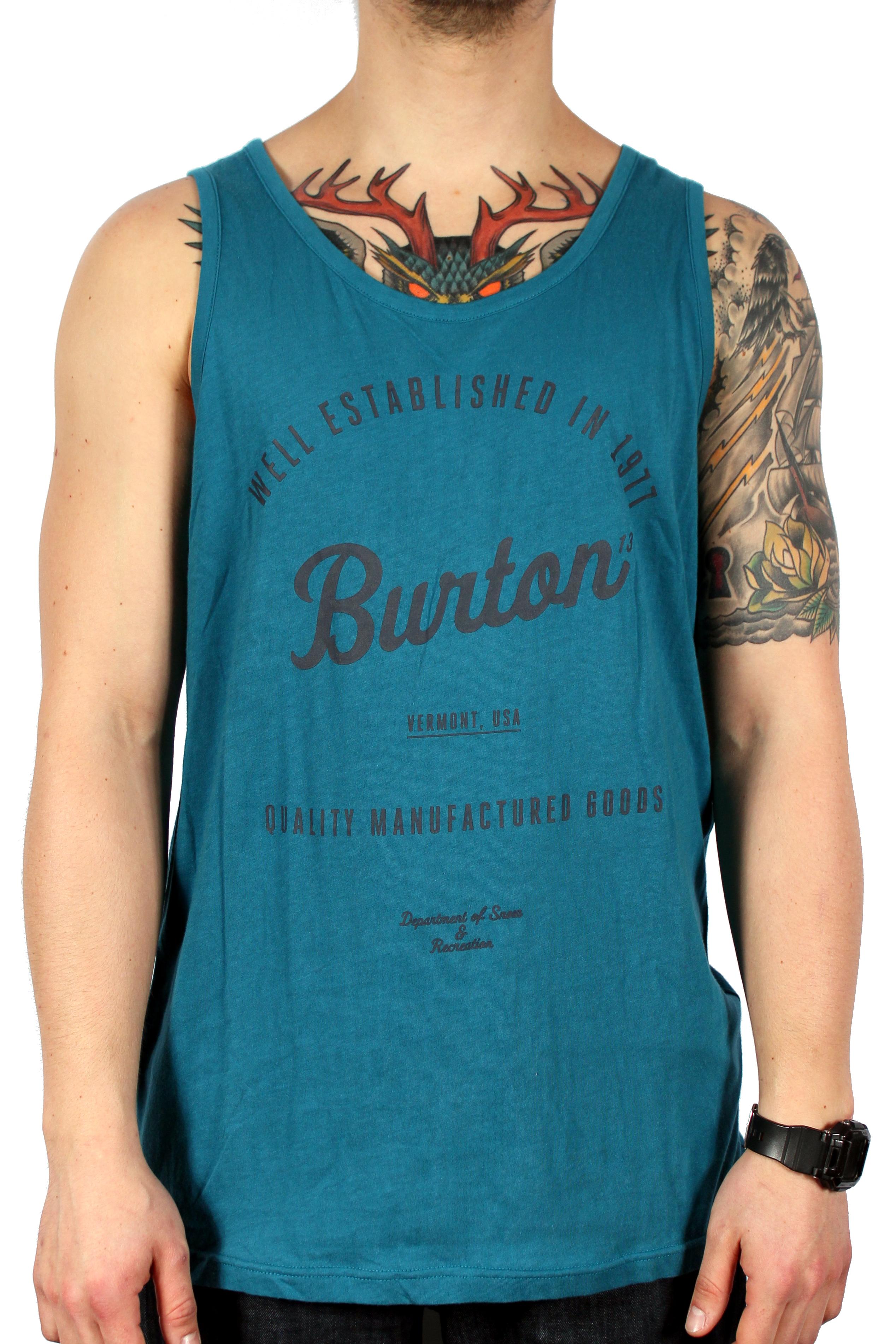 Koszulka Burton Qlty Goods Tank (Cerulean)