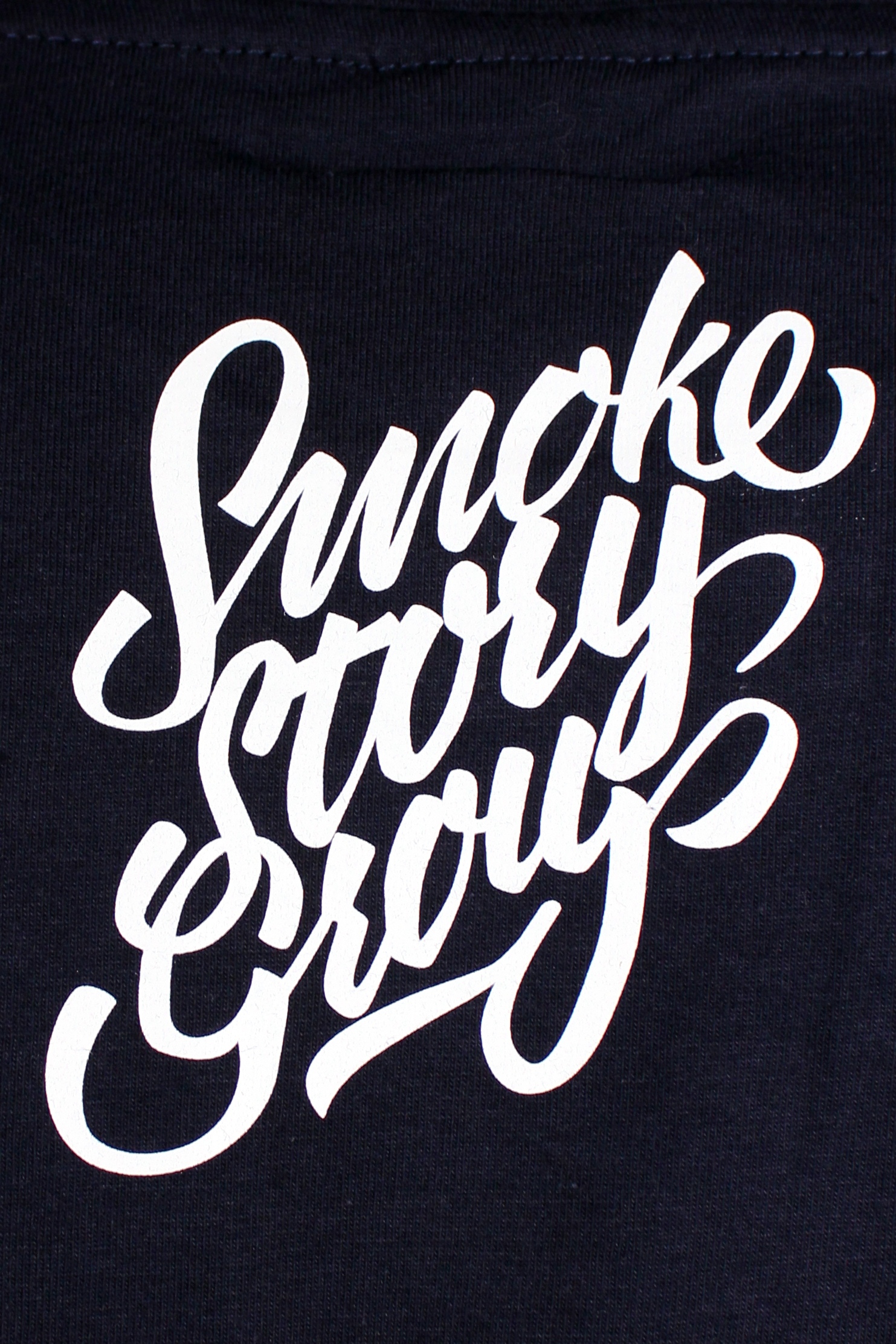 Koszulka Smoke Story Group Caligraphy (Navy)