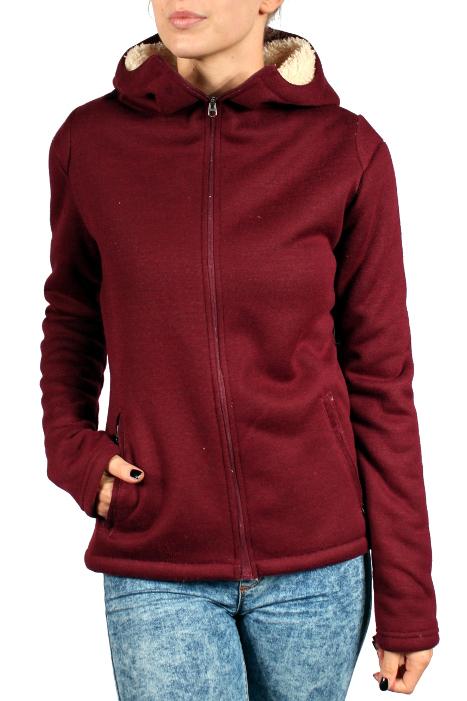 Bluza Ocieplana Burton Negani Sherpa (Zinfandel Heather)