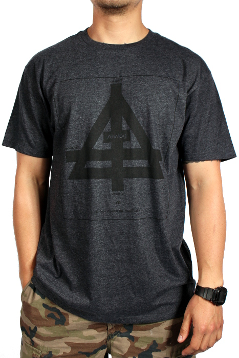 Koszulka Analog Temple (Heather Black)