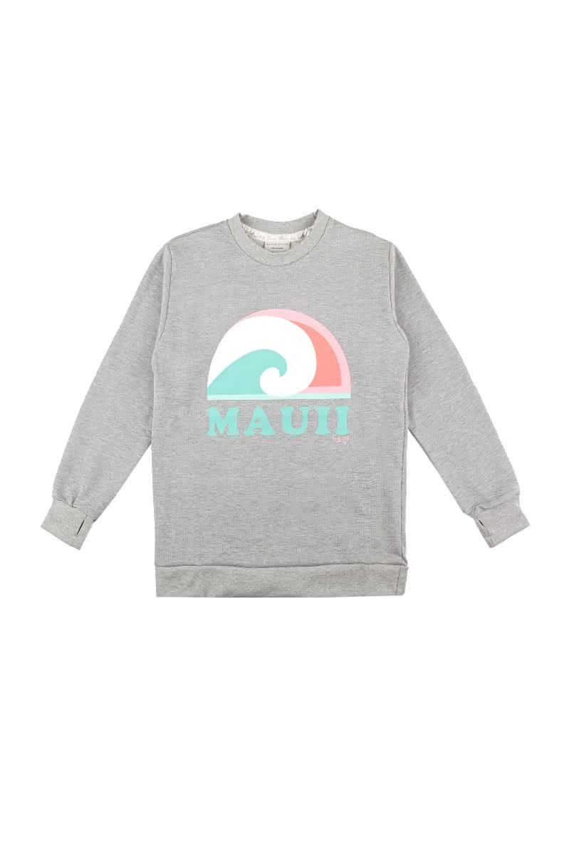 Bluza Damska Femi Mauii (Ash Grey Heather)