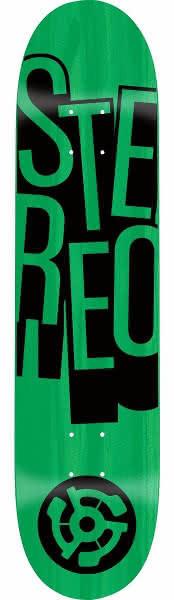 Deska Stereo (Stacked Green) 7,5