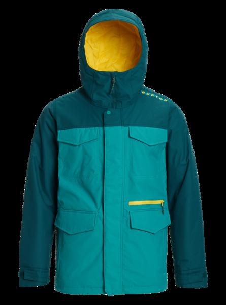 Kurtka Snowboardowa Burton Covert (Green-Blue Slate/Deep Teal) FW20