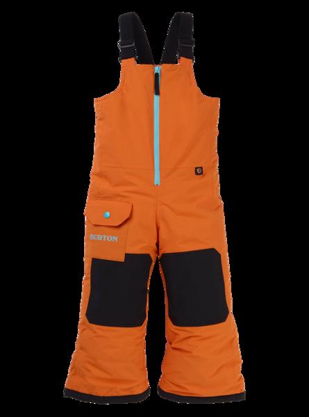 Dziecięce Spodnie Snowboardowe Burton Maven Bib (Russet Orange) FW20
