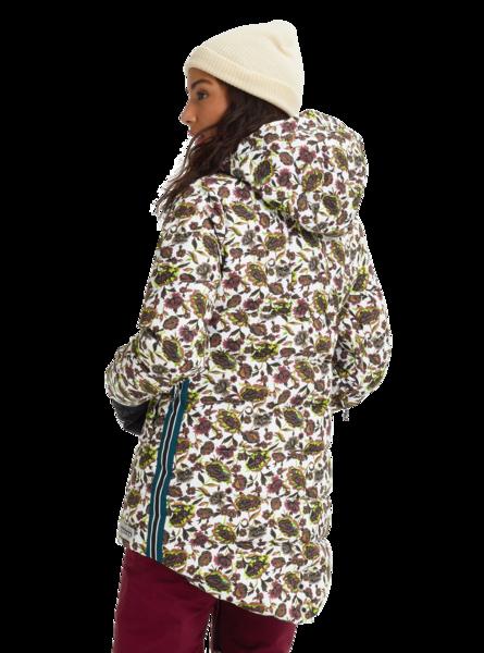 Damska Kurtka Snowboardowa Burton Loyle Down (Whit Floral) FW20