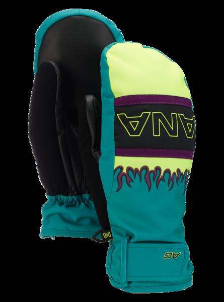 Rękawice Snowboardowe Analog Gentry Mitt (Green-Blue Slate) FW20