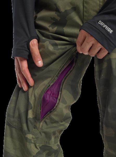 Spodnie Snowboardowe Burton Reserve Bib (Worn Camo) FW20