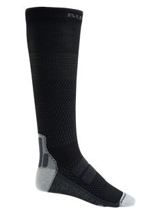 Skarpety Snowboardowe Burton Performance + Ultralight Compression (True Black) FW21
