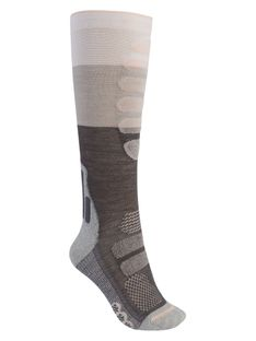Damskie Skarpety Snowboardowe Burton Performance + Lightweight Compression (Stout White) FW21