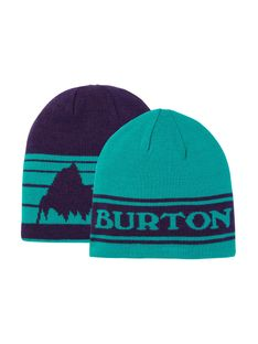 Czapka Zimowa Burton Billboard (Dynasty Green/Parachute Purple) FW21