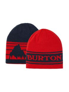 Czapka Zimowa Burton Billboard (Flame Scarlet/Dress Blue) FW21