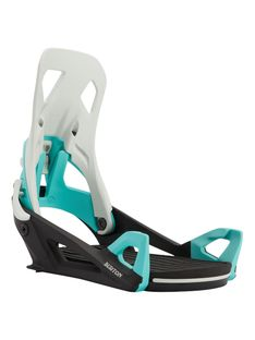 Wiązania Snowboardowe Burton Step On (Gray / Black / Teal) FW21