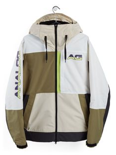 Kurtka Snowboardowa Analog Greed (Creme Brulee/Martini Olive/Phantom/Stout White) FW21