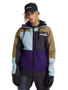 Kurtka Snowboardowa Analog Greed (Martini Olive/Parachute Purple/Phantom/Ether Blue) FW21