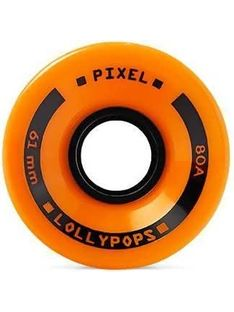 Koła Longboard Pixel Lollypops Mini 61mm 80a Orange