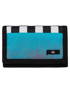 Portfel Quiksilver Reception (Neon Blue)
