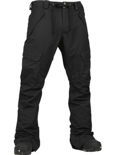 Spodnie Snowboardowe Burton Restricted Highgate (True Black)