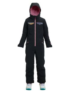 Dziecięcy Kombinezon Snowboardowy Burton Girls Game One Piece (True Black / Techicat Dream) W19