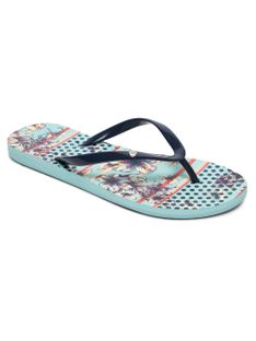 Japonki Damskie Roxy Portofino Ii (Light Blue) Ss18