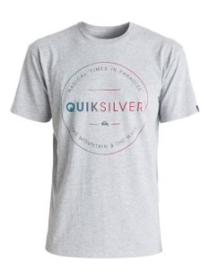 Koszulka Quiksilver Free Zone (Athletic Heather) Ss17