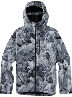 Kurtka Burton Process Softshell (Glacier / True Black)