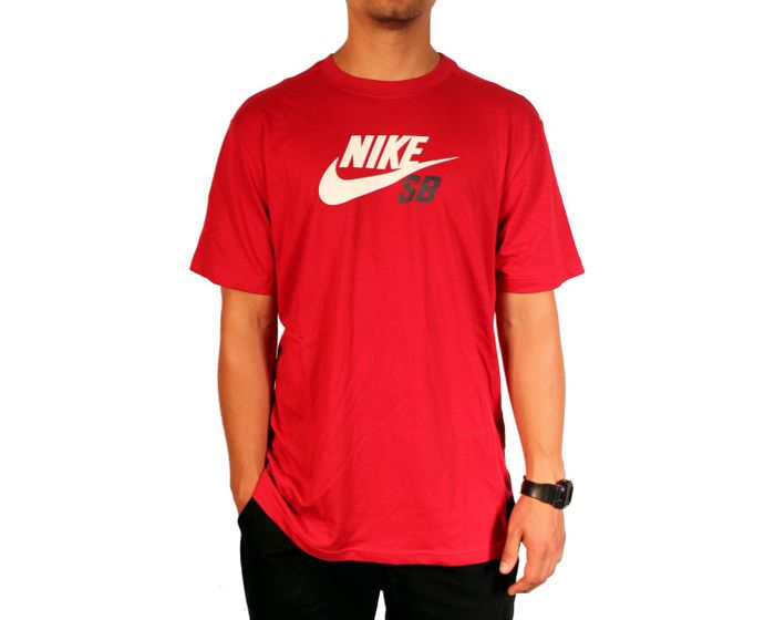 Koszulka Nike Sb Icon Logo Dri-fit (Red)
